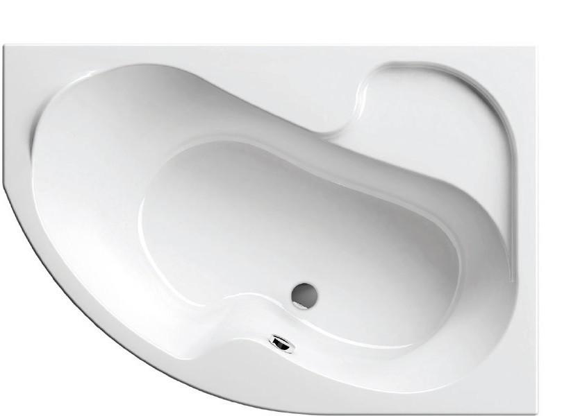 Ванна Ravak Rosa I 140x105 см, права
