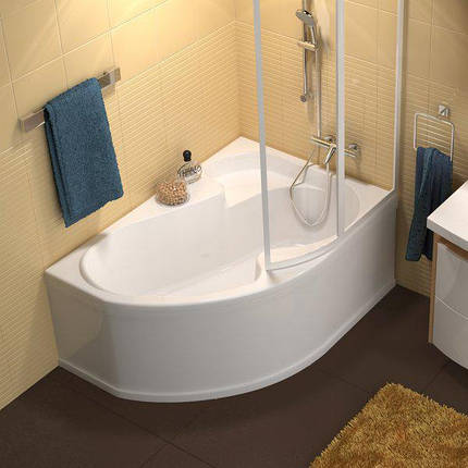 Ванна Ravak Rosa I 160x105 см, права, фото 2