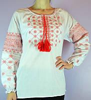 """Женская рубашка вышиванка  """" Крестик """"  ( В.О.В.)"""