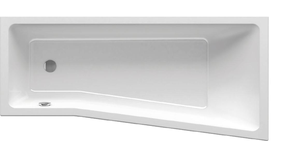 Ванна Ravak BeHappy II 160x75 см, права