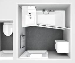 Ванна Ravak BeHappy II 170x75 см, ліва, фото 3