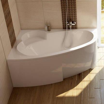 Ванна Ravak Asymmetric 160x105 см, права з панеллю і ніжками, фото 2
