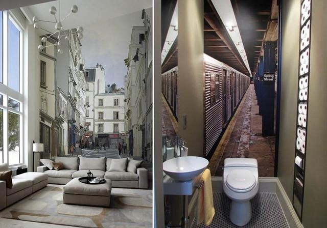 Простой и эффектный способ сделать комнату визуально просторнее