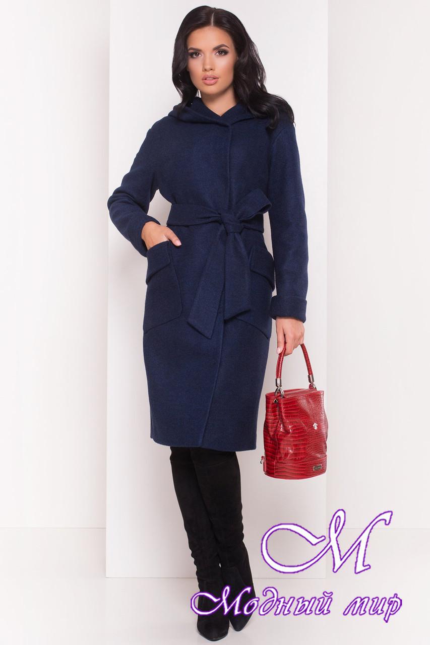 Женское удлиненное демисезонное пальто (р. S, M, L) арт. Анджи 5470 - 36736