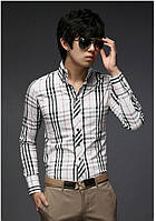 Клетчатая рубашка с полосками, фото 1