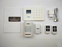 GSM сигнализация KERUI G18 для дома, дачи, офиса, квартиры, магазина. Управление приложением.