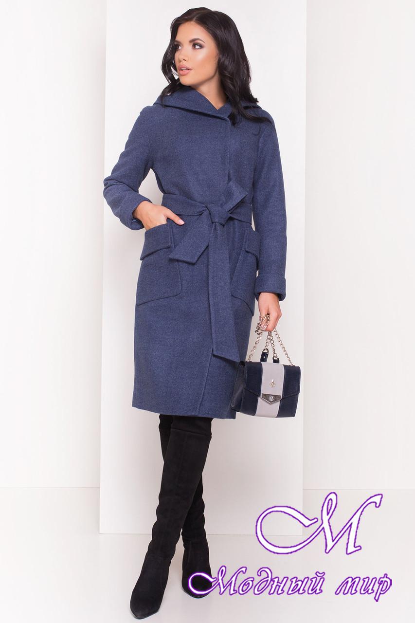Женское демисезонное пальто с капюшоном (р. S, M, L) арт. Анджи 5470 - 36729