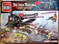 Конструктор Brick Enlighten 2715 Танк с лазерной пушкой 399 деталей, фото 1