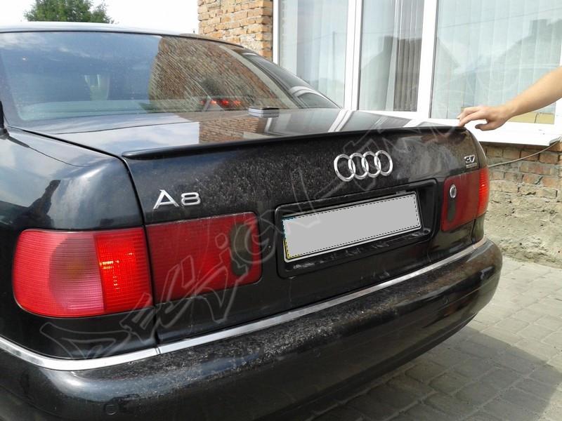 Спойлер Audi A8 D2 тюнинг сабля