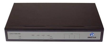 FXS шлюз Dinstar DAG1000-8S, фото 2