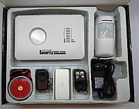 GSM сигнализация G10c для дома, квартиры, дачи, гаража, офиса, склада. Управление приложением.