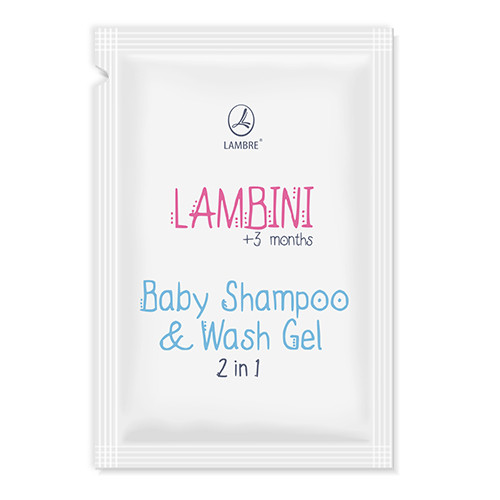 ТЕСТЕР Гель-шампунь для детей 2 в 1 Shampoo & Wash Gel 3мес.+ 2мл
