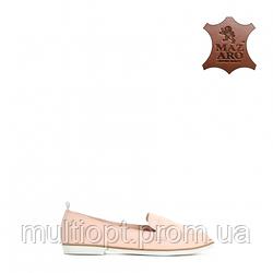 Туфли молодежные женские кожаные Vices оптом 36-41
