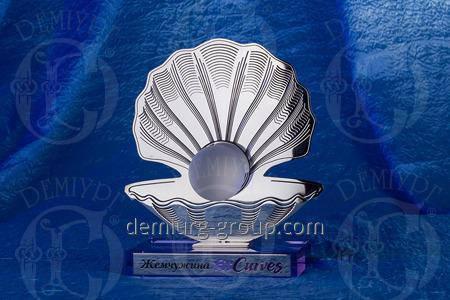 """Награда из металла и стекла """"Жемчужина FitCurves"""", фото 2"""