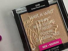 Хайлайтер Wet n Wild MegaGlo Highlighting Powder Golden Flower Crown, фото 3