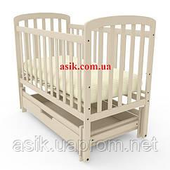 Кроватка детская Woodman Teddy,  цвет - слоновая кость.