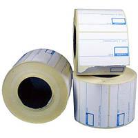 Термоэтикетка 58*40/700 сетка(с печатью премиум)