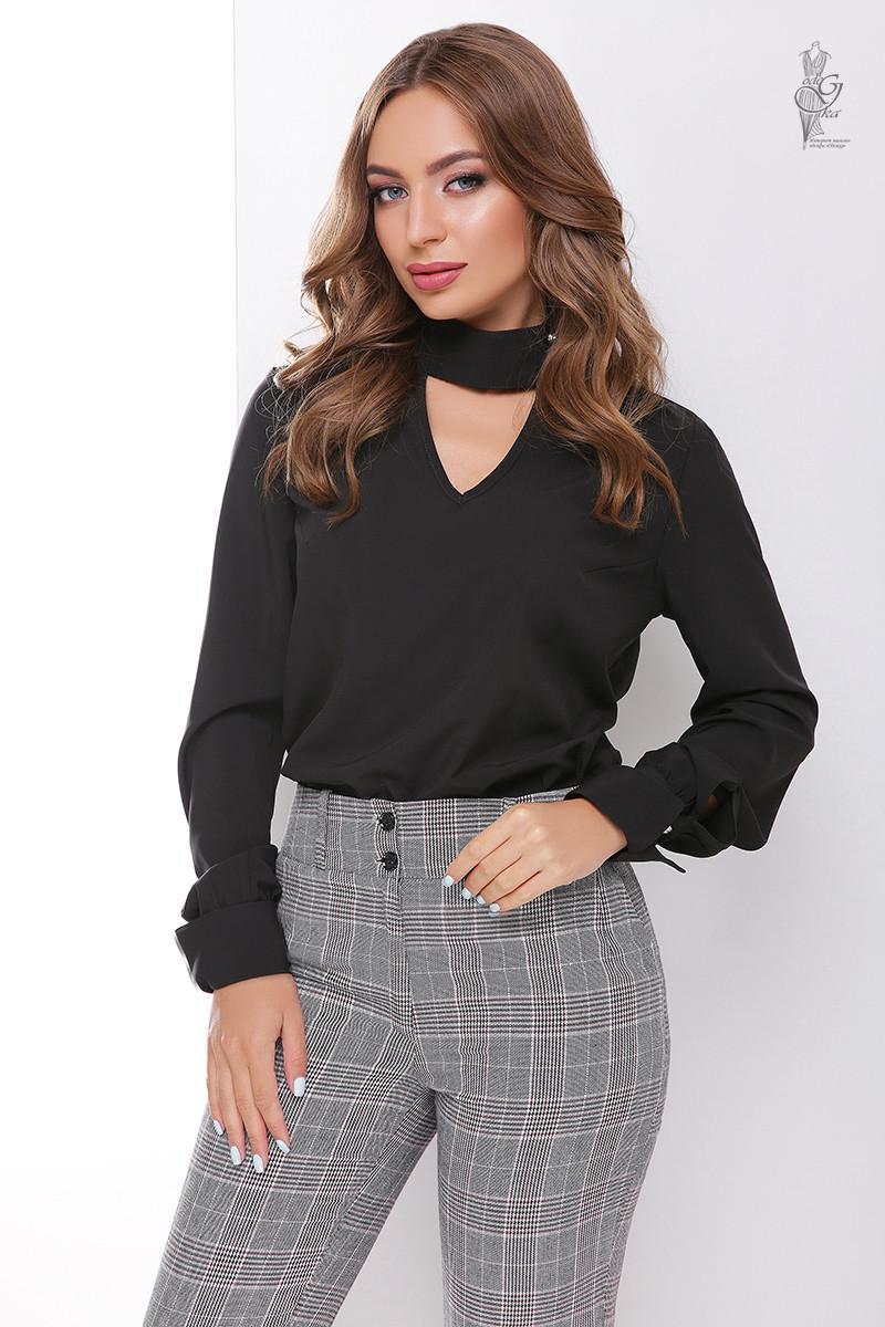 Блуза женская Лика с длинным рукавом