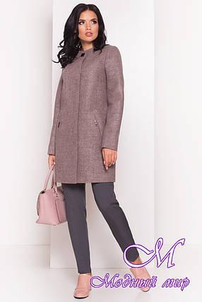 Женское стильное осеннее пальто (р. S, M, L) арт. Ферран 5369 - 36591, фото 2
