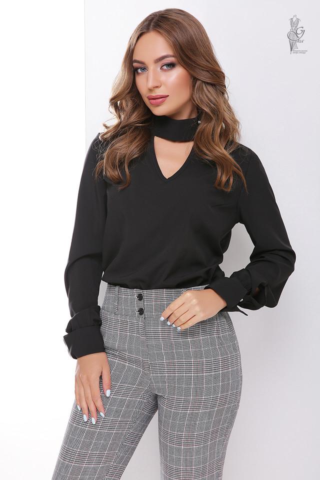 Черный цвет Блузы женской Лика