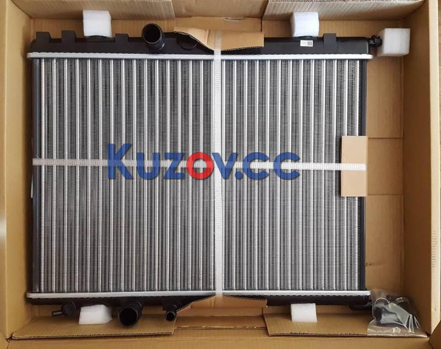 Радиатор охлаждения двигателя Citroen Berlingo, C4, Peugeot Partner, 206, 307 (02-07) (NRF)