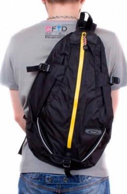 Городской современный рюкзак-гитара  20 л. Onepolar (Ванполар) W1305-black чёрный