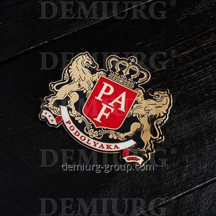 Корпоративный герб в металле, фото 2