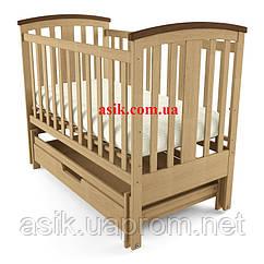 Дитяче ліжечко Woodman Mia, колір - натуральний.