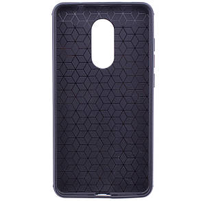TPU чехол Metal для Xiaomi Redmi Note 4X / Note 4 (Snapdragon) (Черный), фото 2