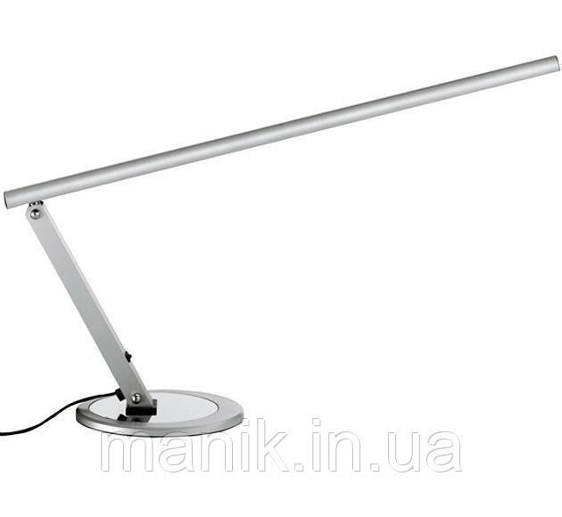 Настольная LED лампа, цвет: серебро