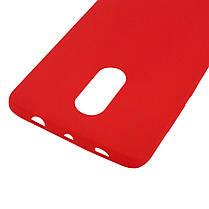 Силиконовый чехол Candy для Xiaomi Redmi Note 4X / Note 4 (SD) Красный, фото 3