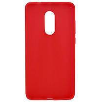 Силиконовый чехол Candy для Xiaomi Redmi Note 4X / Note 4 (SD) Красный, фото 2