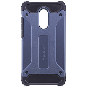 Бронированный противоударный TPU+PC чехол SPIGEN (HC) для Xiaomi Redmi Note 4X / Note 4 (SD) (Синий), фото 2