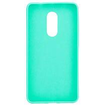 Силиконовый чехол Candy для Xiaomi Redmi Note 4X / Note 4 (SD) Бирюзовый, фото 2