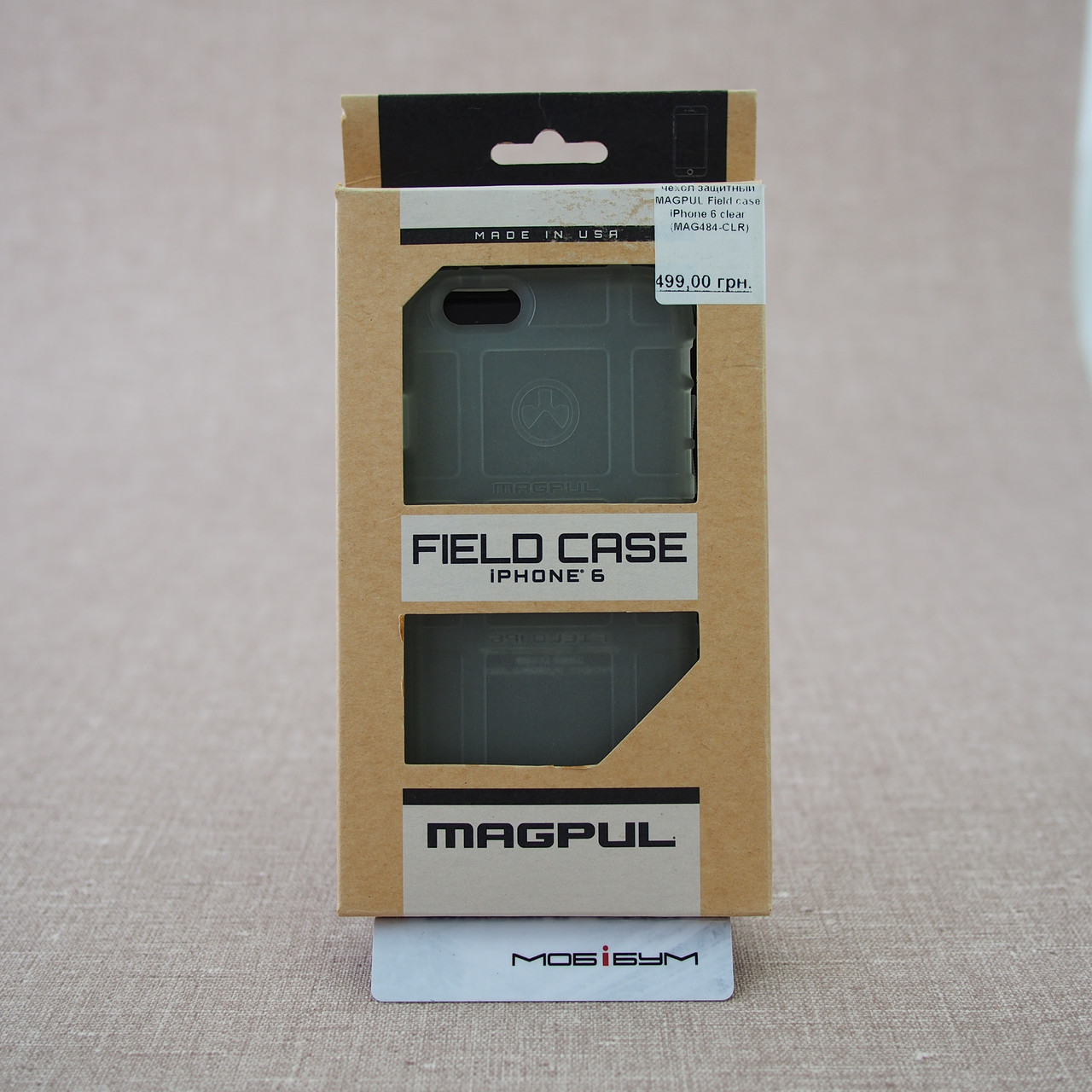 Чехол защитный MAGPUL Field case iPhone 6 clear (MAG484-CLR) EAN/UPC: 840815100010