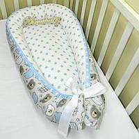 Гнездышко-кокон для новорожденного BabyNest —20