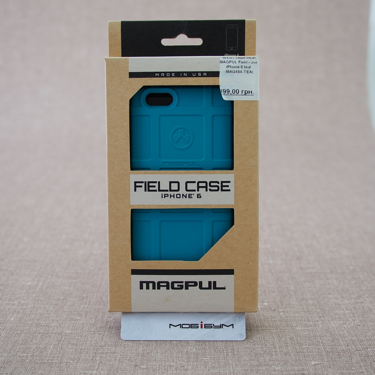Чехол MAGPUL Field case iPhone 6 teal Для телефона Apple Magpul