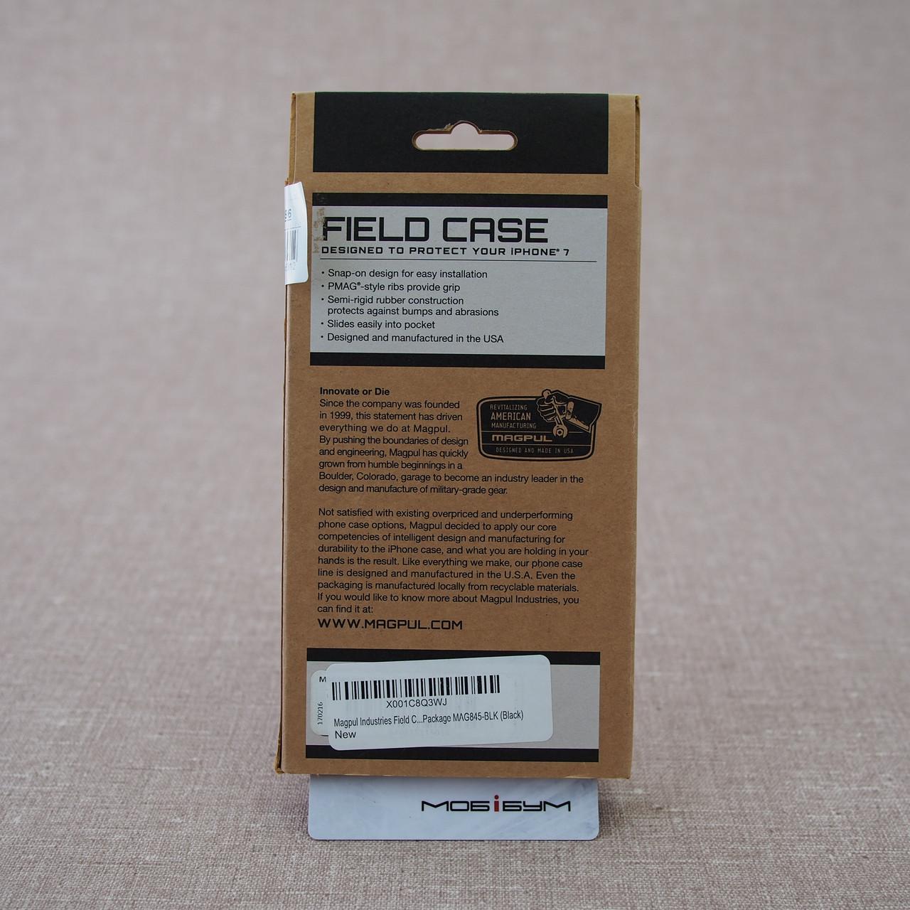 Чехол защитный MAGPUL Field case iPhone 7 black Для телефона