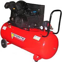 Компрессор Forte V-0.4/100 - 10 атм. 2,2 кВт, вход: 420 л/мин., ресивер 100 л BPS
