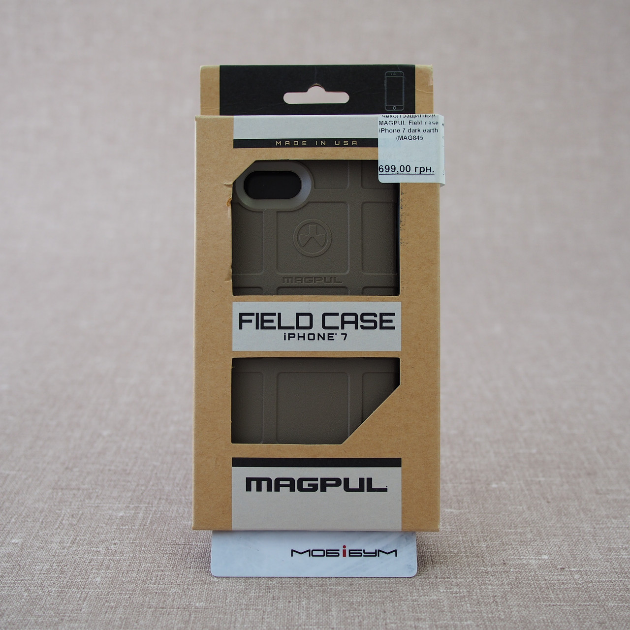 Чехол защитный MAGPUL Field case iPhone 7 dark earth (MAG845-FDE)