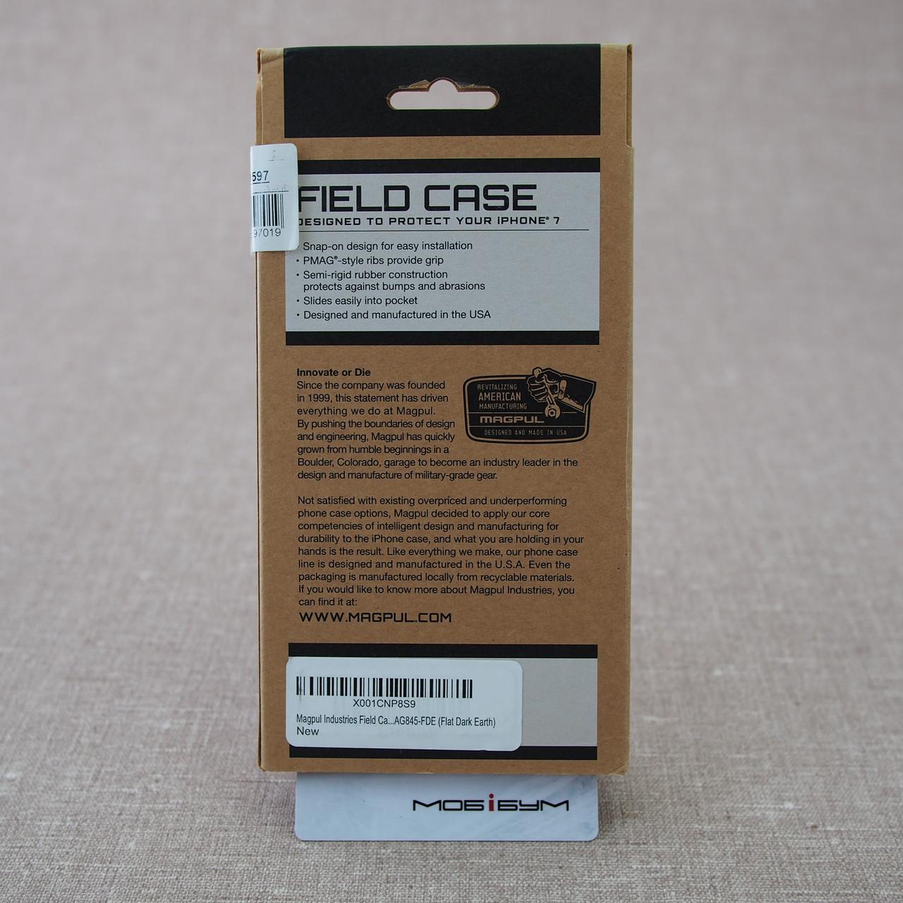 Чехол защитный MAGPUL Field case iPhone 7 dark earth