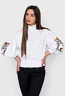 Блуза с широкими рукавами и вышивкой SK HOUSE, размер универсальный
