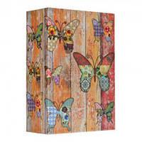 Книга сейф 18 см Бабочки