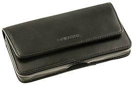 Чехол на пояс Valenta для смартфонов 5.5 - 6 дюймов Темно-коричневый (C-401/Note коричн.)