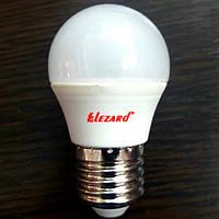Led лампа 5W E27 2700k шарик Lezard