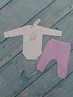 Боди и штаны для девочки (интерлок)