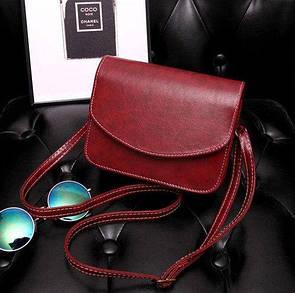 Женская сумочка бордо