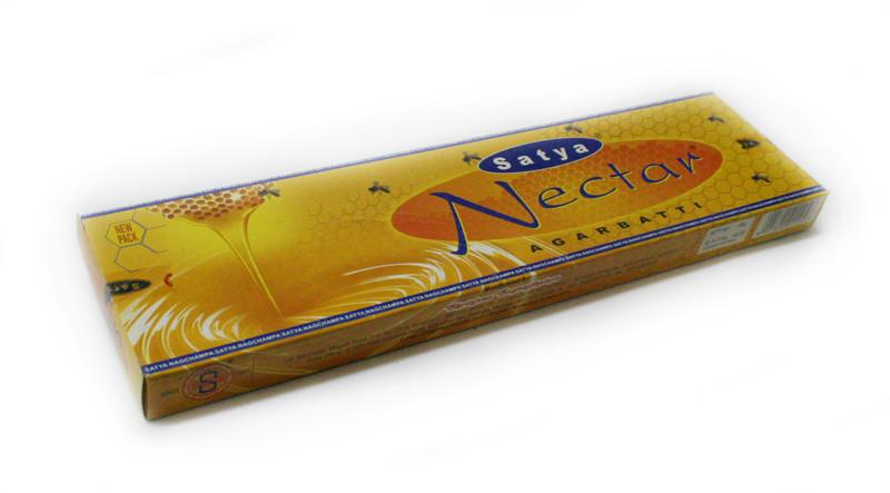 Благовония натуральные Нектар, Satya NECTAR, 15 шт. в упаковке