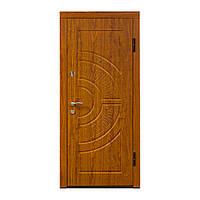 Входные двери По-08 V Дуб золотой Vinorit