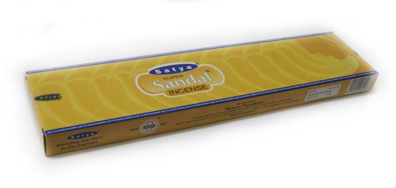 Благовония натуральные Супер Сандал, Satya SUPER SANDAL, 20 шт. в упаковке, фото 1